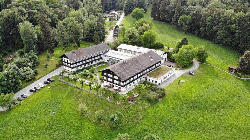 Haus Brannenburg Luftaufnahme
