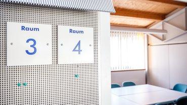 Seminarraum Seminar leer Brannenburg