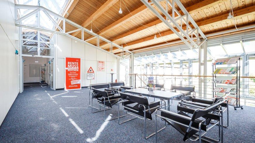Haus Brannenburg Seminar leer