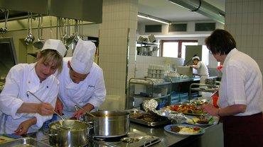 Haus Brannenburg Küche