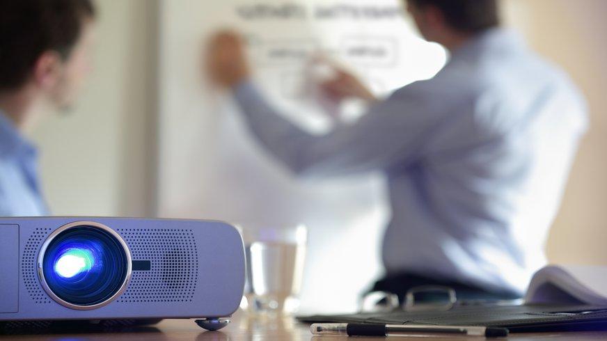Technik Beamer Präsentation